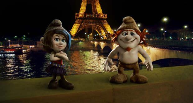 «Смурфики 2»: На Париж!