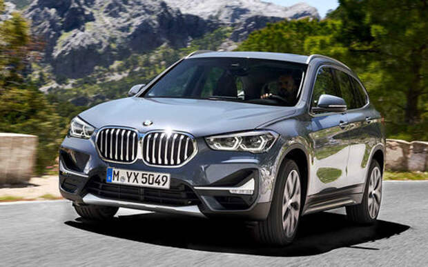 Квадратный подбородок: BMW обновил кроссовер X1