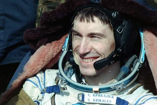Сергей Крикалев - легенда российской космонавтики