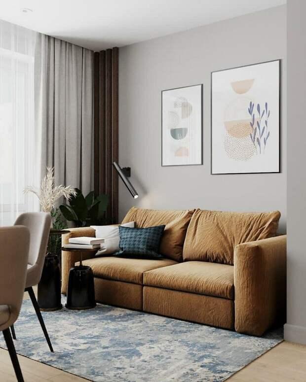 Интерьер: квартира для аренды, в которой хочется немедленно поселиться