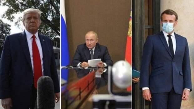 Франция опять пытается манипулировать РФ
