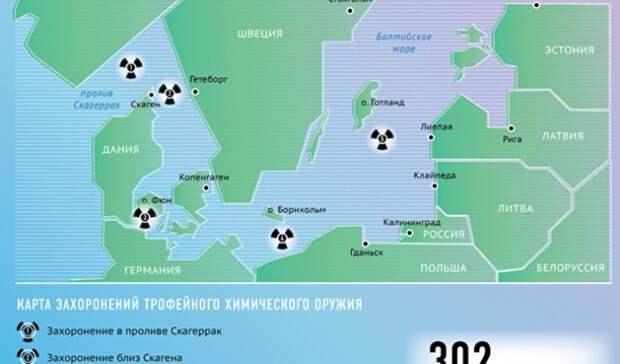 Химический арсенал на дне Балтики: в России знают, как избежать глобальной катастрофы