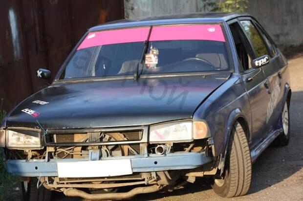 Владельцу потребовалось 5 лет, чтобы сделать «дикий» Москвич-2141