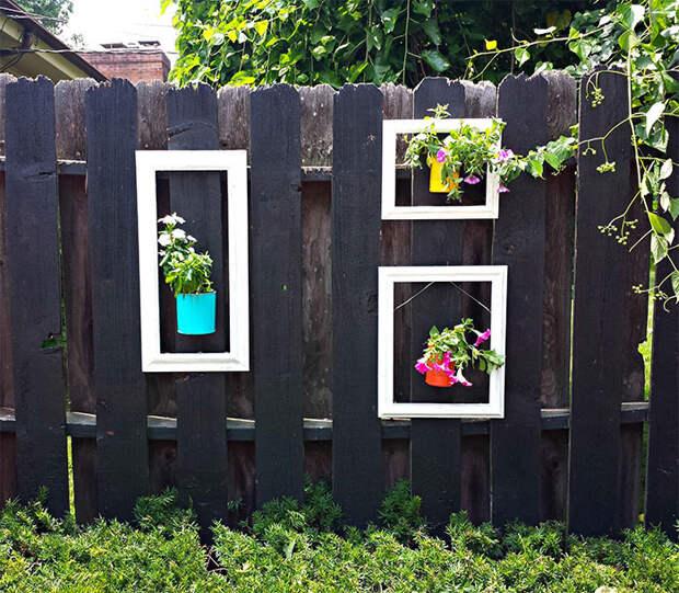 28. декор, забор, креатив