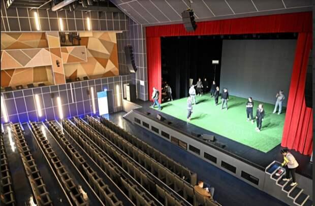 Культурный центр «Современник» превратился в «Строгино»