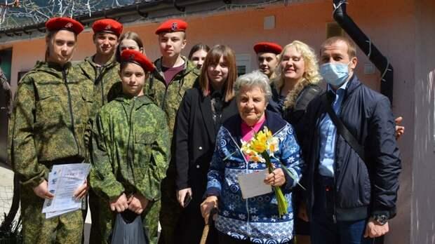 В Ялтинской средней  школе № 8  имени Д.М. Гребёнкина прошли мероприятия, приуроченные ко Дню освобождения Ялты