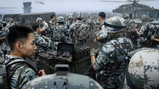 В США назвали итоги виртуальных маневров с симуляцией войны с Китаем