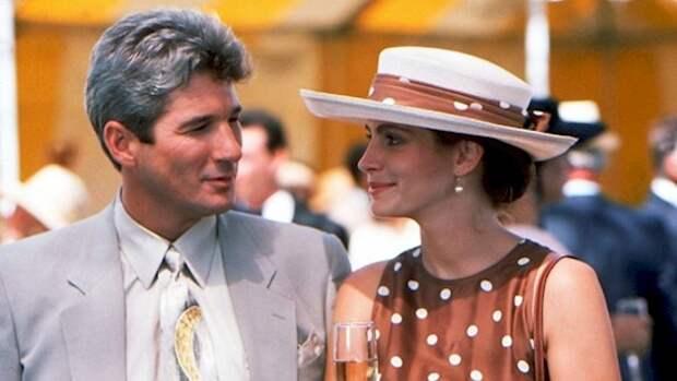 """15. Изначально фильм должен был называться """"3000"""" - именно на такую сумму Вивьен и Эдвард договорились за одну неделю. Название изменили на красотку, когда в саундтрек вошла песня Роя Орбисона """"Oh, Pretty Woman"""". Ричард Гир, актеры, джулия робертс, кино, красотка, факты"""