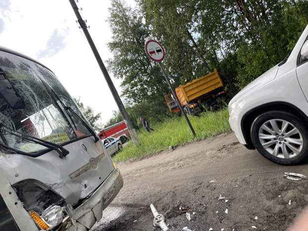 ДТП на Архангельском шоссе