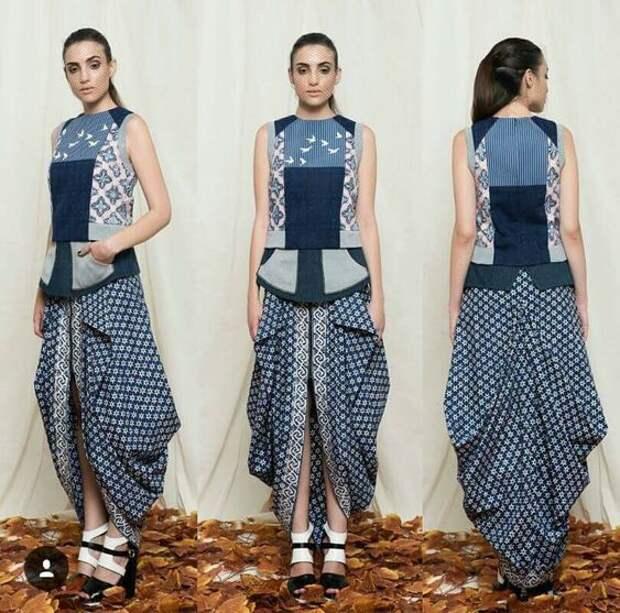 Cовременная индийская мода (трафик)
