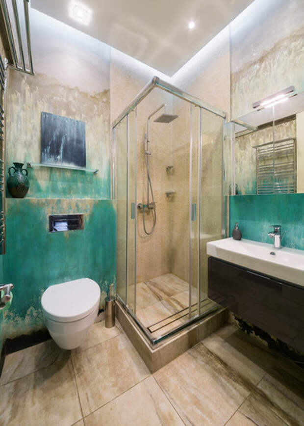 Современный Ванная комната by MIM design
