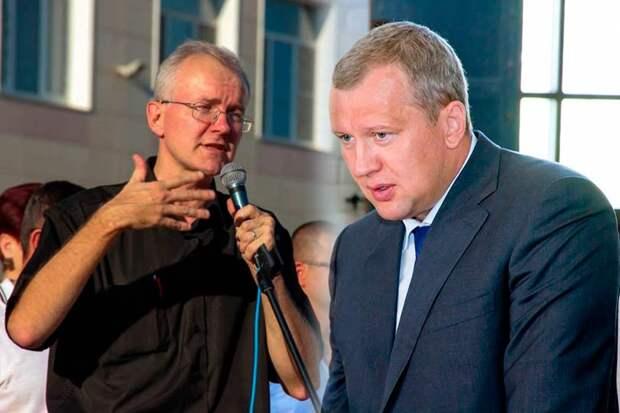Морозов уволен с поста губернатора Астраханской области, взамен может прийти Шеин