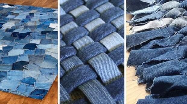 Что можно сделать из старых джинсовых вещей — море идей