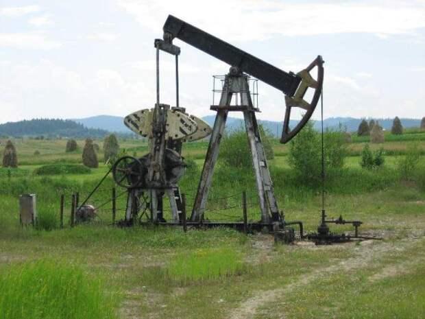 Россия нефть добыча
