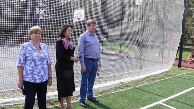 Студенты колледжа на Бибиревской получили новый стадион ко Дню знаний