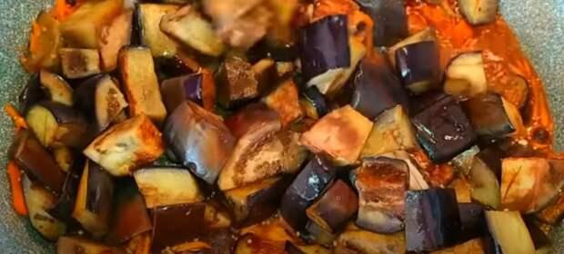 Такие баклажаны вы никогда не готовили! Салат из баклажанов на зиму