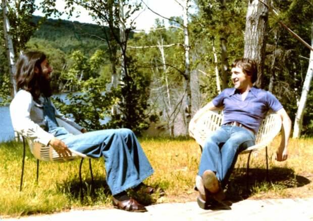 Владимир Высоцкий и Джордж Харрисон в Канаде, 1976 год. Разоблачаем