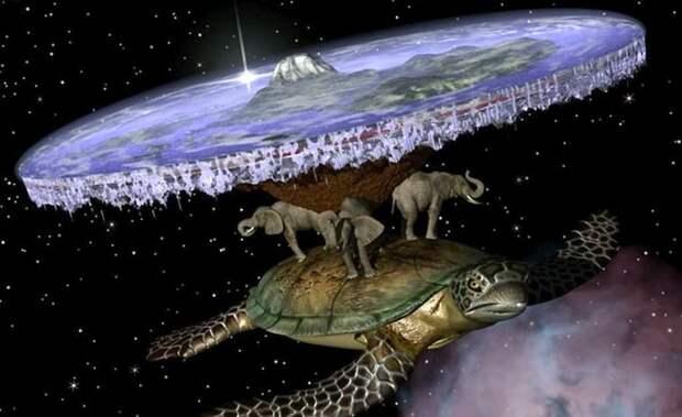 Число людей, верящих в плоскую Землю, растет