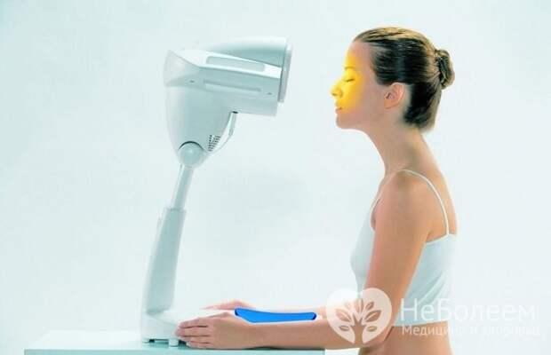 Физиопроцедуры часто назначаются с целью ускорения восстановления слизистой оболочки носа