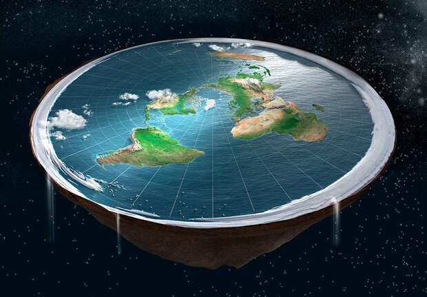 Правда, что раньше люди считали землю плоской?