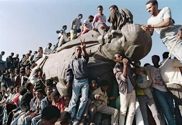23 апреля 1991 года. Эфиопия. Аддис-Абеба by Jerome Delay.jpg