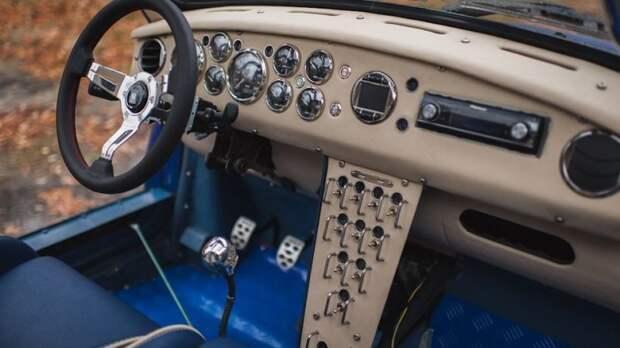 """Горбатый """"Запорожец"""" из Пензы с подвеской и двигателем от ВАЗа авто, автомобили, автотюнинг, заз, запорожец, рестомод, своими руками, тюнинг"""