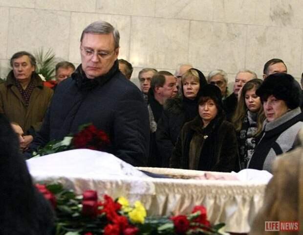 Похороны Егора Гайдара  2009 г.