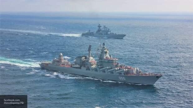 Оказались под прицелом: РФ выдвинула навстречу кораблям НАТО ракетоносец «Маршал Устинов»