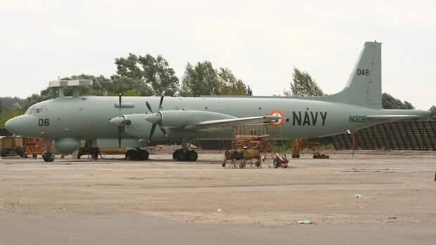 Противолодочный самолет Ил-38SD «Морской змей» ВВС Индии