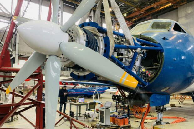 Российский самолет-электролет готовится к первому полету