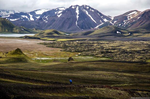 Марсианская Исландия: путешествие к долине Landmannalaugar