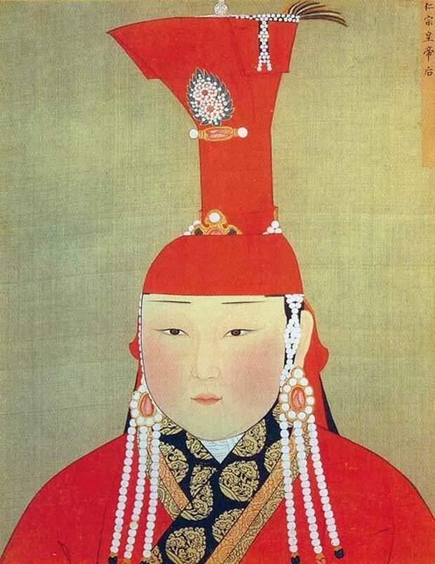 Портрет ханши Тайдулы, XIV век