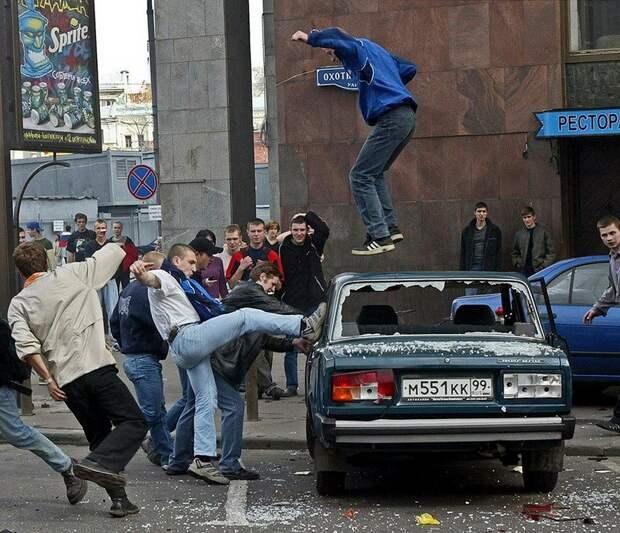 Беспорядки 9 июня 2002 года