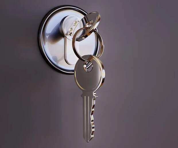 ключ дверь
