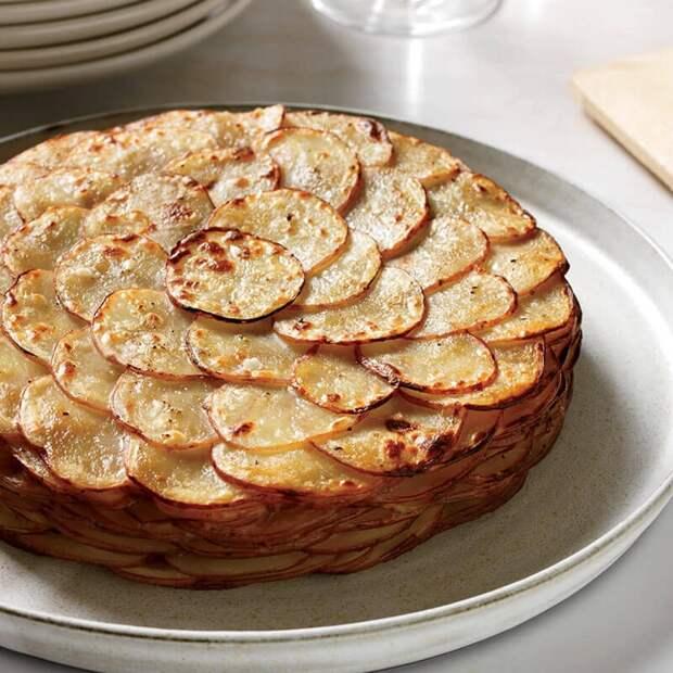 """Картофель """"Буланжер"""" - гордость французской кухни"""
