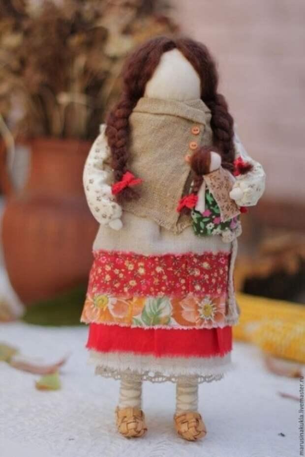 Идеи обережных кукол, хранительниц рода
