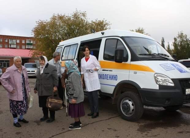 Медицинскую помощь на дому будут оказывать жителям сельских районов Удмуртии старше 65 лет