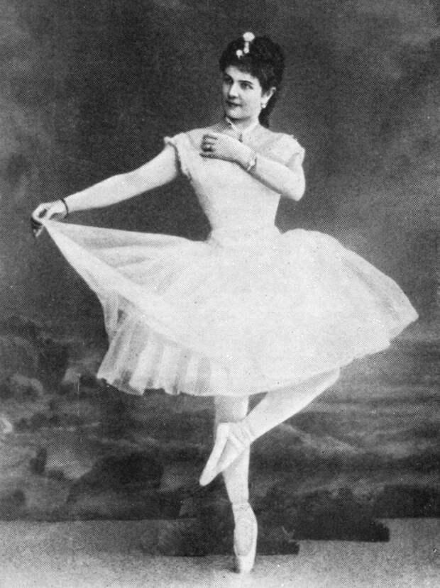 знаменитая российская балерина Лидия Николаевна Гейтен. фото