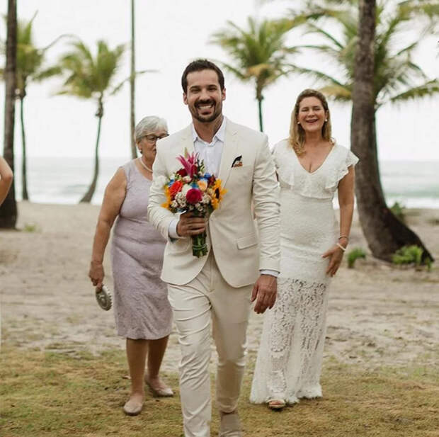 В Бразилии чувак вышел замуж сам за себя Бразилия, Свадьба, Парни, Праздники, Расставание, Длиннопост