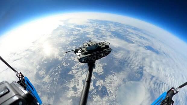 Разработчики World of Tanks Blitz впервые запустили танк в космос