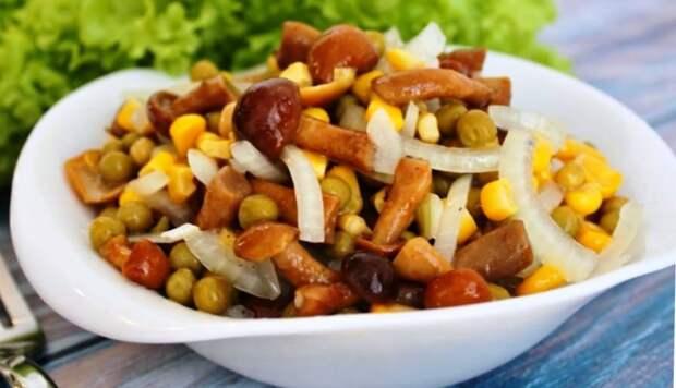 Салат под закусочку за считанные минуты! Оригинальное и вкусное блюдо