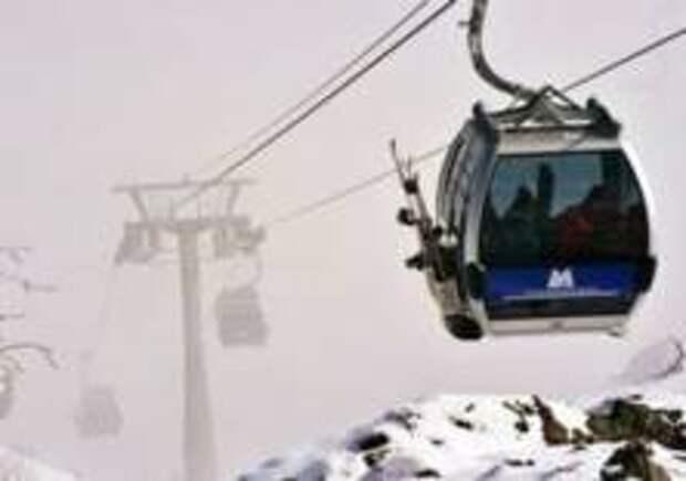 Десятки горнолыжников спасли в Чехии