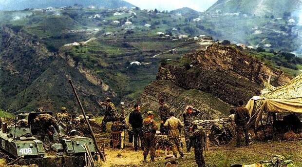 Вторжение боевиков в Дагестан,1999 год.