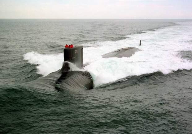 Острые моменты гидроакустической разведки ВМС США у ворот Севморпути. О развёртывании сверхмалошумной МАПЛ класса «Seawolf» близ Баренцева моря