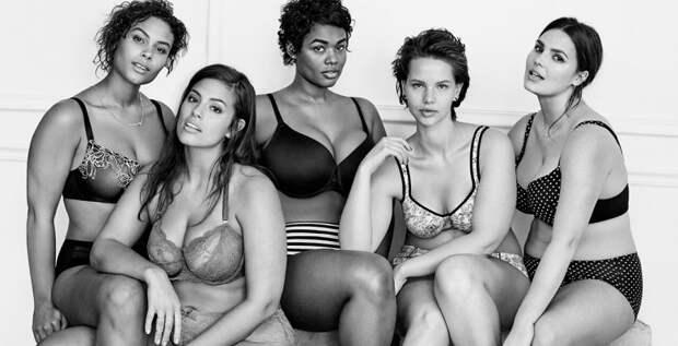 Как подобрать сексуальное нижнее белье для фигуры plus-size