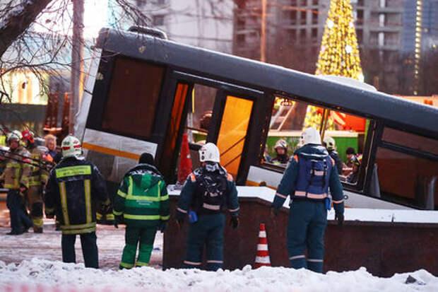 Трагическое ДТП с автобусом в Москве. Все версии: от теракта до бутылки с водой