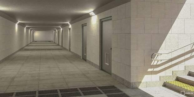 Подземный переход у МЦК «Коптево» ожидает ремонт