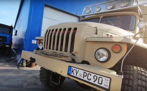 Что можно сделать из грузовика Урал - дом на колесах!
