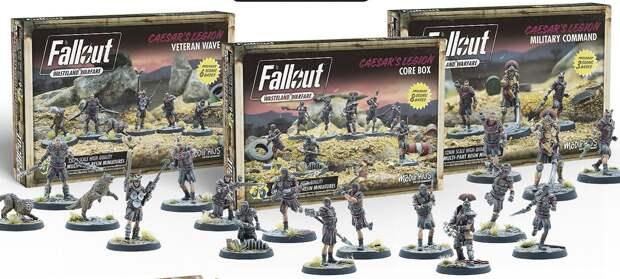 В настолку Fallout: Wasteland Warfare добавят НКР и Легион Цезаря