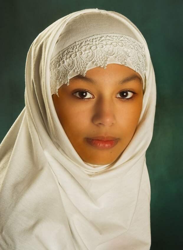 марокканка в хиджабе фото